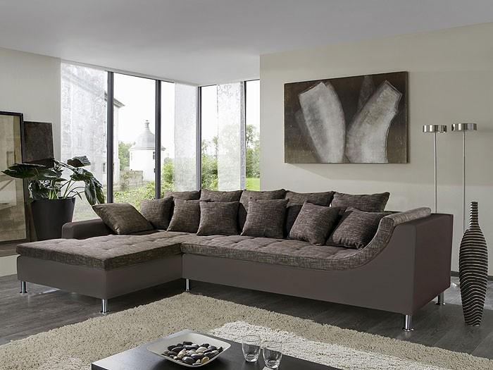 wohnzimmer braun beige: braun-beige Kunstl. schlammbr. Wohnzimmer Sofa & Couch ~ wohnzimmer braun beige